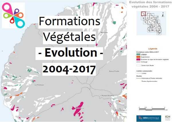 Atlas de l'Évolution de la Forêt entre 2004 et 2017