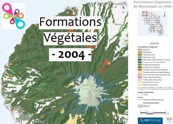Atlas des Formations végétales 2004