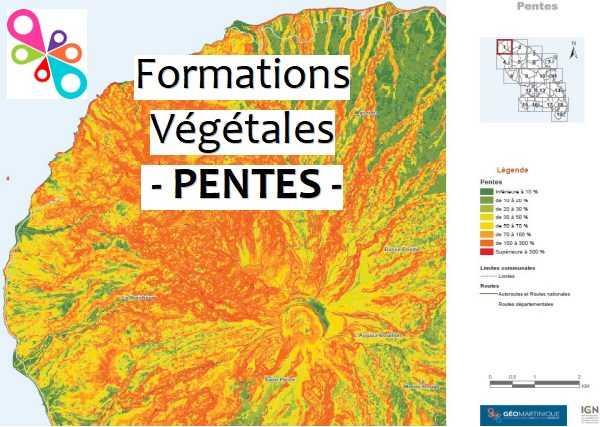 Atlas des Pentes des formations végétales 2017